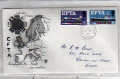 1967 ILLUSTRATED EFTA 'ORDINARY'FDC