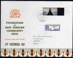 1967 KENYAN REGISTERRED FDC