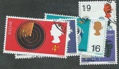 1967 SET 'BRITISH INVENTIONS ' (4v) FINE USED