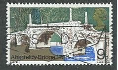 1968  9d 'BRITISH BRIDGES ' FINE USED