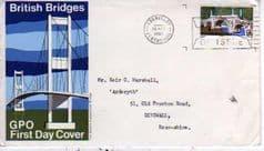 1968 BRIDGES'9d ABERFELDY'F.D.I'