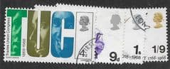 1968  (SET) 'ANNIVERSARIES' (4v) FINE USED