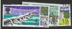 1968  (SET)  'BRITISH BRIDGES ' (4v) FINE USED