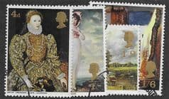 1968 (SET) 'BRITISH PAINTINGS ' (4v) FINE USED