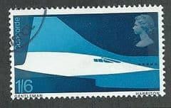 1969 1/-6d 'FIRST FLIGHT OF CONCORDE' FINE USED