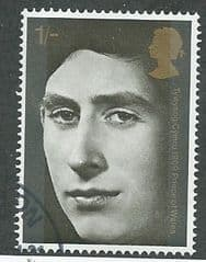 1969 1/- ' HRH PRINCE OF WALES ' FINE USED