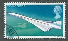 1969 4d 'FIRST FLIGHT OF CONCORDE' FINE USED