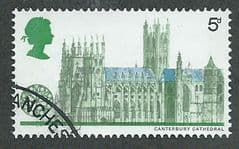 1969 5d 'CATHEDRALS - CANTERBURY' FINE USED