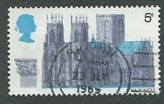1969 5d 'CATHEDRALS - YORK'  FINE USED