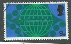 1969 9d 'POST OFFICE TECHNOLOGY' FINE USED