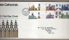 1969 BRIT CATHEDRALS,BUREAU CANCEL