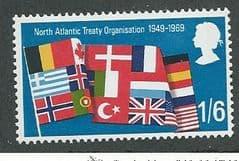 1969 U/M 1/6d 'GENERAL ANNIVERSARIES'