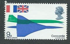 1969 U/M 9d 'CONCORDE'