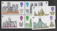1969 U/M (SET) 'CATHEDRALS' (6v)