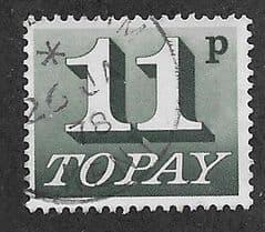 1970 11P 'SLATE GREEN'   FINE USED