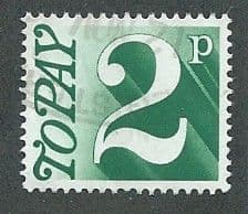 1970 2P 'MYRTLE GREEN'    FINE USED