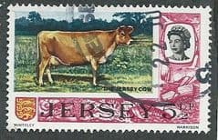 1970 5.5P 'THE JERSEY COW' FINE USED