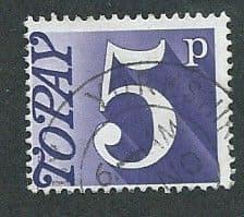 1970 5P 'VIOLET' FINE USED