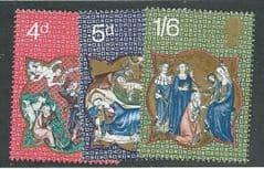 1970 U/M SET 'CHRISTMAS' (3v)