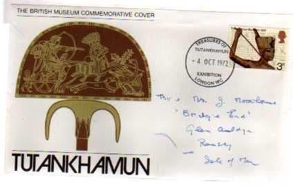 1972 'TREASURES OF TUTANKHAMUN'COVER