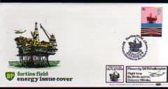 1978 'ENERGY' FORTIES FIELD ABERDEEN PMK (BENHAM)