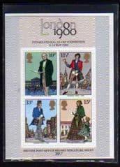 1979 U/M 'ROWLAND HILL' MINI SHEET