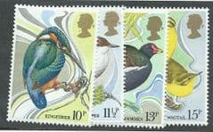 1980 U/M SET 'BRITISH BIRDS' (4v)