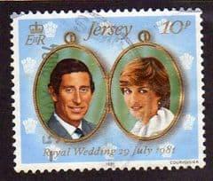 1981  10p   'ROYAL WEDDING'   FINE USED