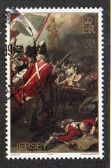 1981  15p 'BICENT OF THE BATTLE OF JERSEY' FINE USED
