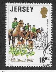 1981  18p   'CHRISTMAS'    FINE USED