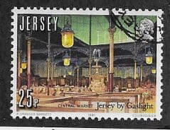 1981 25P '150th ANN GAS LIGHTING IN JERSEY'  FINE USED