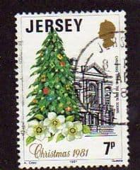 1981  7p   'CHRISTMAS'   FINE USED