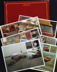 1981 'CARRYING THE ROYAL MAILS' POUCH ( 6 POSTCARDS)