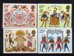 1981 U/M SET FOLKLORE' (4v)