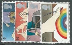 1981 U/M SET 'YEAR OF THE DISABLED' (4v)