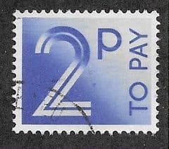 1982 2P 'BRIGHT BLUE'  TO PAYS   FINE USED