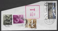 1983 'PART REGISTERED COVER FROM NETHERLANDS WITH 3  'TO PAYS'