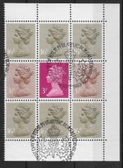 1983 'STORY OF THE ROYAL MAIL' (DX4) BOOKLET PANE FINE USED