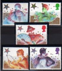1985 U/M SET 'CHRISTMAS' (5v)