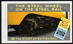1986 (DX7) 'THE STORY OF BRITISH RAIL' PRESTIGE BOOKLET