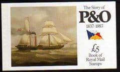 1987(DX8) P&O  PRESTIGE BOOKLET