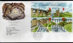 1989  'INDUSTRIAL ARCHEOLOGY MS'NEW LANARK FDC