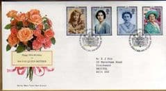 1990 90TH BIRTHDAY OF QUEENS MUM FDC