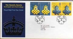 1990 QUEENS AWARD FDC