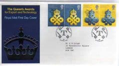 1990 QUEENS AWARD FDC,LONDON S.W PMK