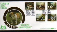 1991 'DOGS' CRUFTS DOG SHOW PMK  (BENHAMS)