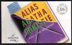 1991 (DX12) 'ALIAS AGATHA CHRISTIE' PRESTIGE BKLT