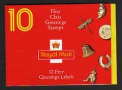 1991 GOOD LUCK CHARMS BOOKLET KX2