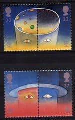 1991 U/M SET 'EUROPA -SPACE' (4v)