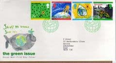 1992 THE GREEN ISSUE 'BUREAU' FDC